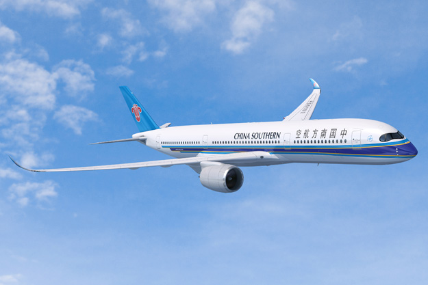 China Southern A350-900 (91)(Flt)(Airbus)(LRW)