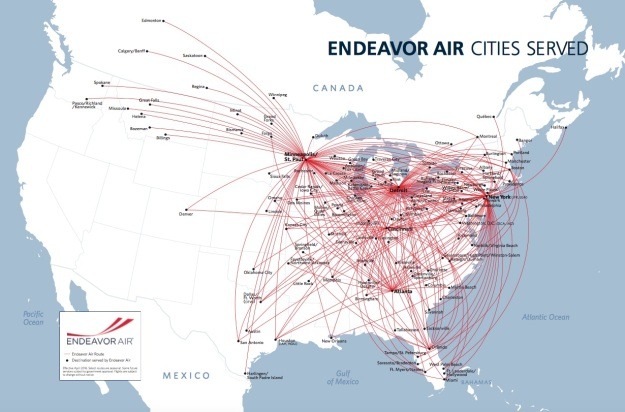 Endeavor Air | World Airline News