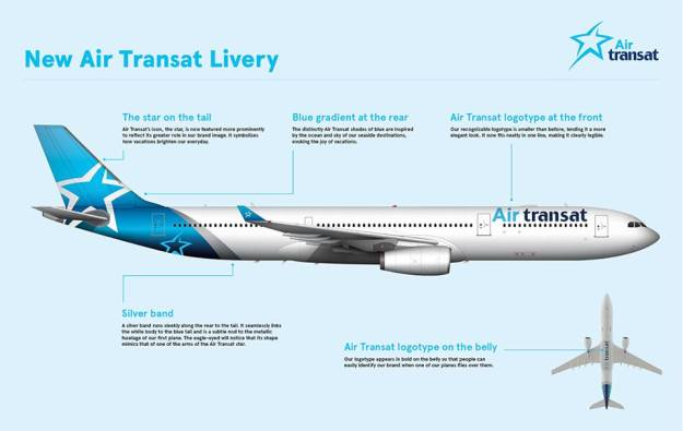 air transat introduces a new livery to celebrate their 30th anniversary world airline news