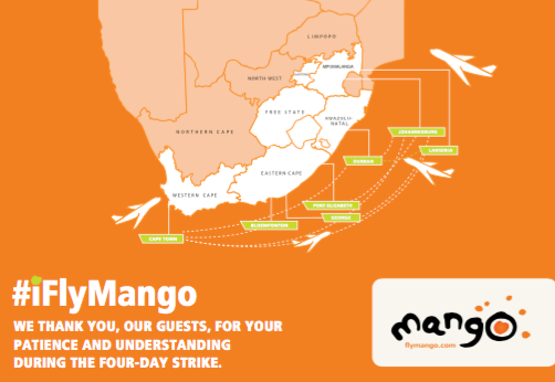 South African to rationalize their domestic route network, Mango to grow  larger | World Airline News