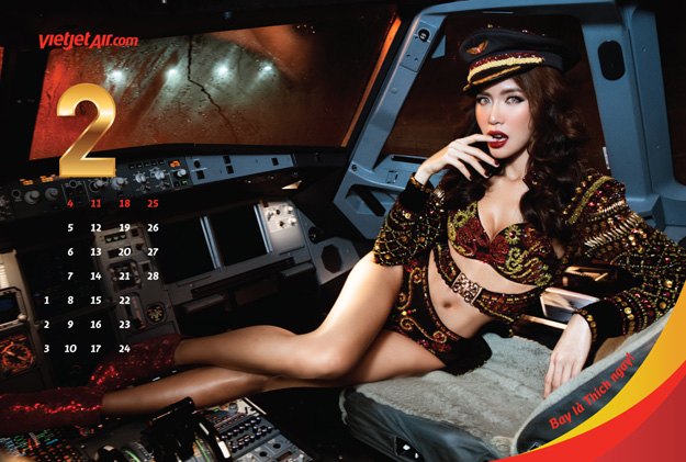 kingfisher airlines calendar 2012