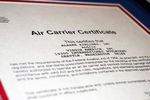 Alaska and Virgin America reach a merger milestone; a single AOC ...