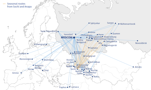 Pobeda to add new routes to western Europe   World Airline News