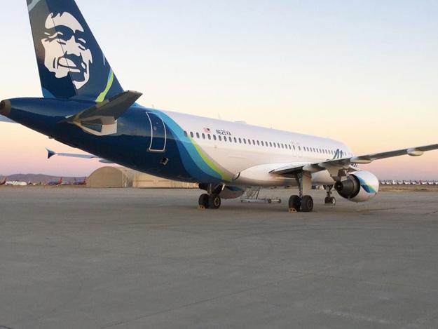 Alaska Airlines Repaints Its First Ex Virgin America