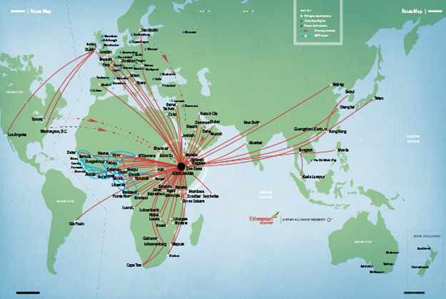 Ethiopian Airlines to add Barcelona   World Airline News