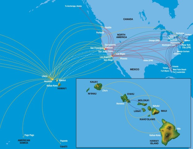 Hawaiian Airlines To Fly To Long Beach World Airline News