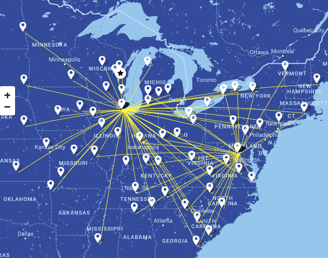 Air Wisconsin to fly exclusively under the United Express livery by ...