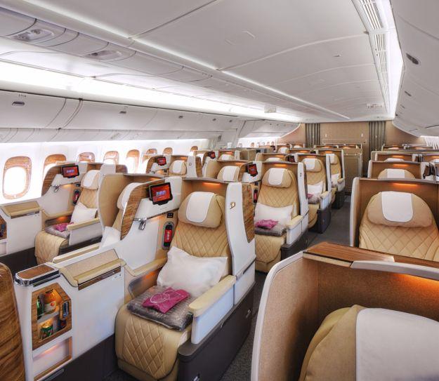 Emirates airline world airline news for Ba cabina di prima classe