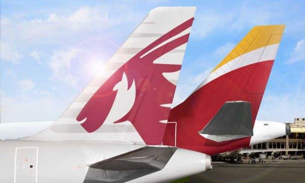 Iberia and qatar airways announce a codeshare agreement for Oficina qatar airways madrid