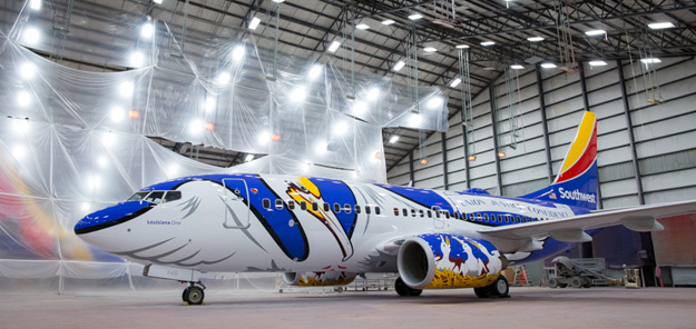 Southwest airlines introduces louisiana one world airline news southwest airlines introduces louisiana one malvernweather Image collections