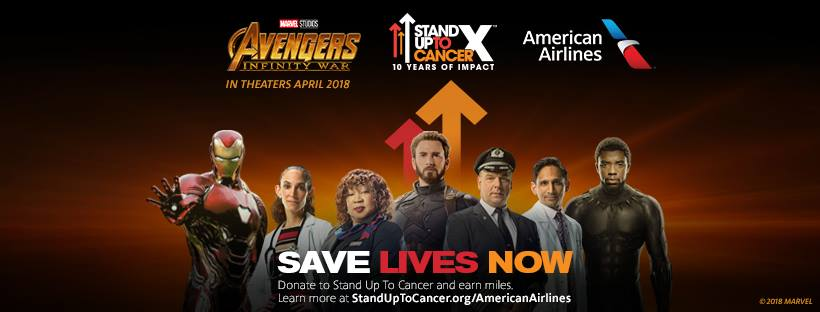 American Introduces An Airbus A321 Stand Up To Cancer