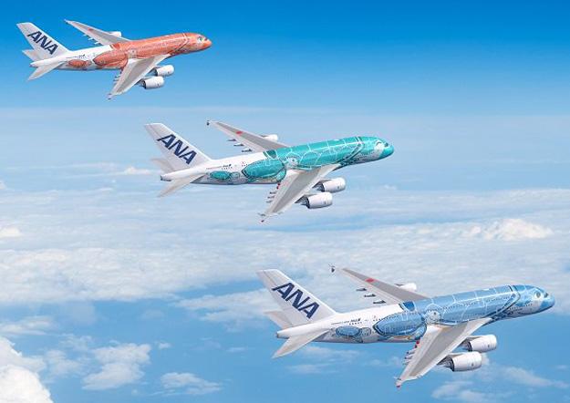 Αποτέλεσμα εικόνας για ANA launches Japan's first Airbus A380 in Spring 2019