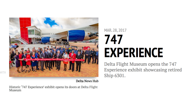 Delta looks back on the 10th Anniversary of the Northwest