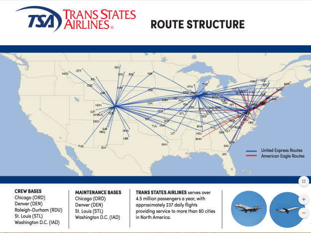 American to end its relationship with ExpressJet and Trans States in ...