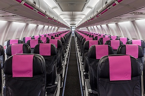 The First Swoop Boeing 737 800 Is Unveiled Quantum