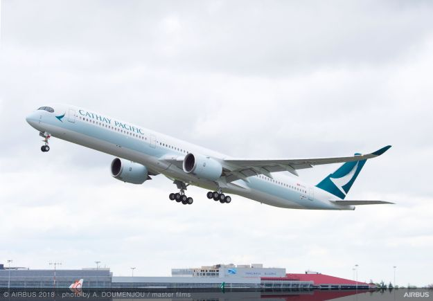 Cathay Pacific becomes the second operator of the Airbus A350-1000 ...