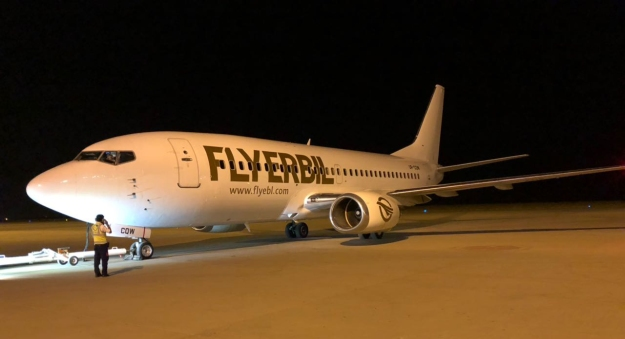 airlines that fly to erbil