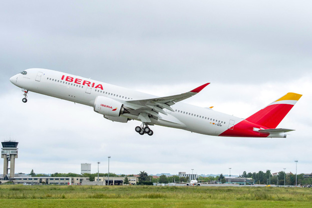 Iberia takes delivery of its first Airbus A350-900 | World Airline News