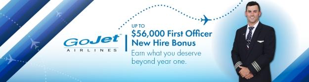 GoJet Airlines announces a new pilot bonus package | World Airline News