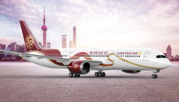 Boeing delivers the first 787 dreamliner to shanghai airlines juneyao airlines unveils new liveries for the new boeing 787 fleet publicscrutiny Images