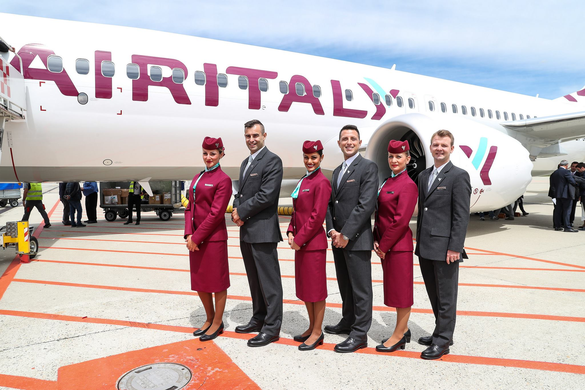 Image result for qatar airways air italy acquisition sam chui