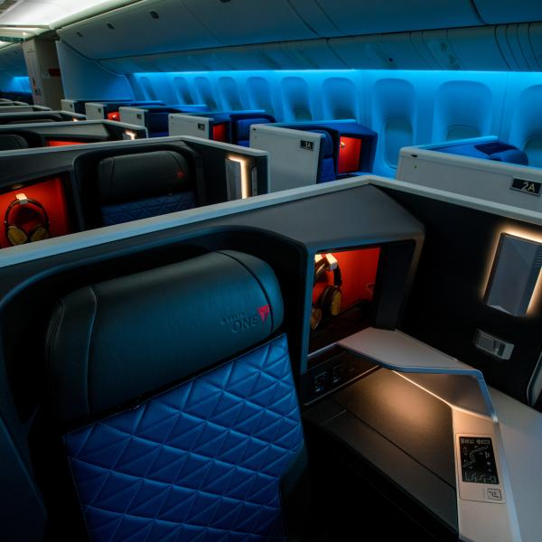 Five more trans-Pacific routes to feature Delta One suites