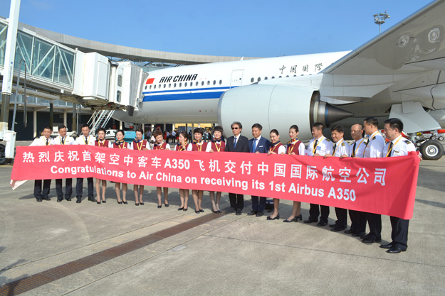 Air chinas first airbus a350 900 delivered on august 8 2018 at this event the top managers of airbus air china and rolls royce were in attendance publicscrutiny Images