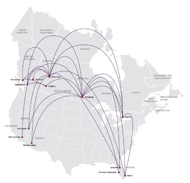 Flair Airlines | World Airline News on abx air, everts air, cinnamon air, allegiant air, kiwi air, atlas air, horizon air, cape air,