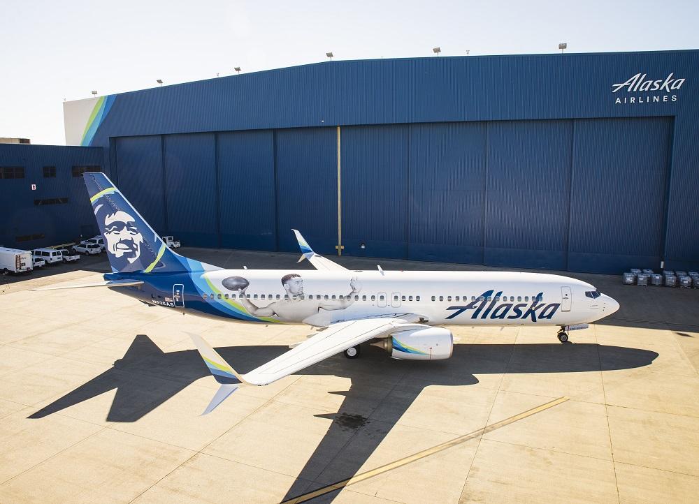 Alaska Introduces A New Russell Wilson Logo Jet World