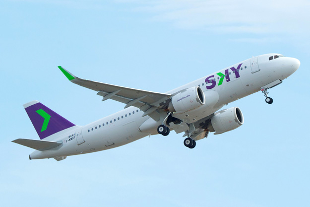 Airbus delivers the first A320neo to Sky Airline of Chile | World
