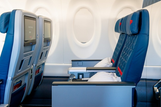 an inside look at delta u2019s new airbus a220 100 world