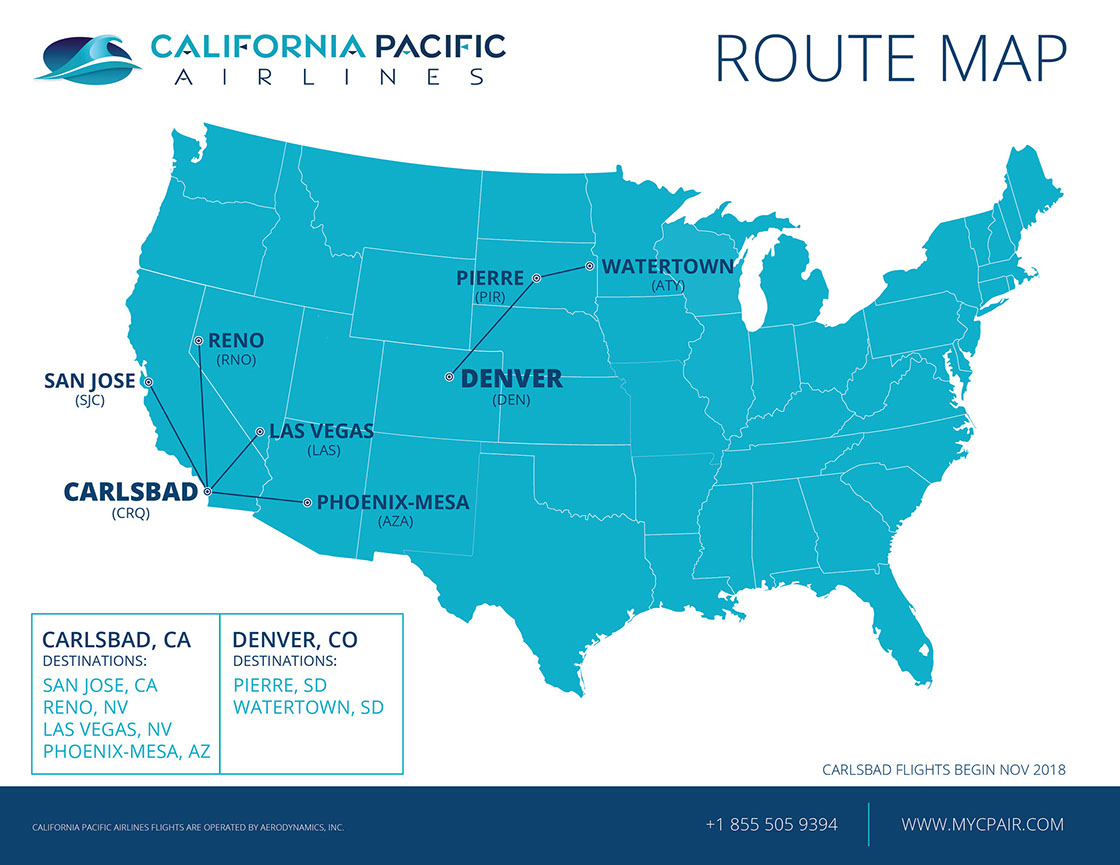 California Pacific finally launches operations from Carlsbad ... on solano beach ca map, san luis obispo ca map, san elijo ca map, la jolla ca map, el camino college ca map, solana beach ca map, san marcos ca map, livermore ca map, fort worth ca map, las vegas ca map, santa monica ca map, san clemente ca map, mountain view ca map, campbell ca map, mountain home ca map, del mar ca map, tijuana ca map, chicago ca map, palo alto ca map, camarillo ca map,