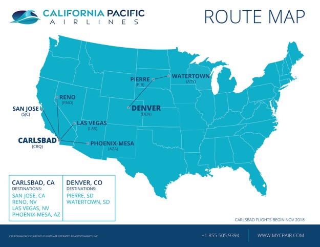 California Pacific Airlines | World Airline News