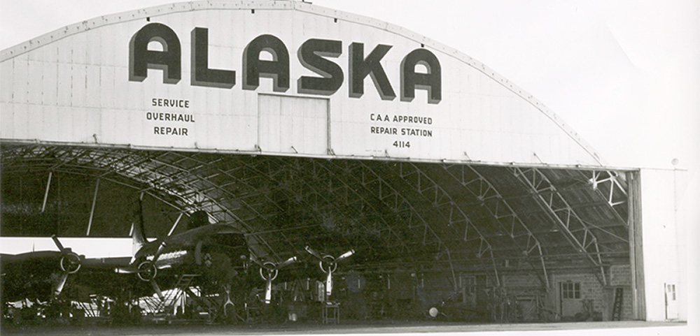 Alaska Airlines And Paine Field Go Way Back All The Way