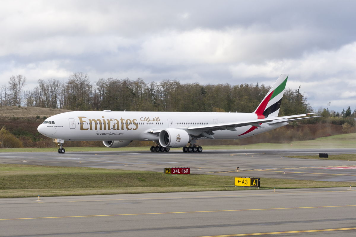 Emirates takes delivery of its last Boeing 777-300ER aircraft