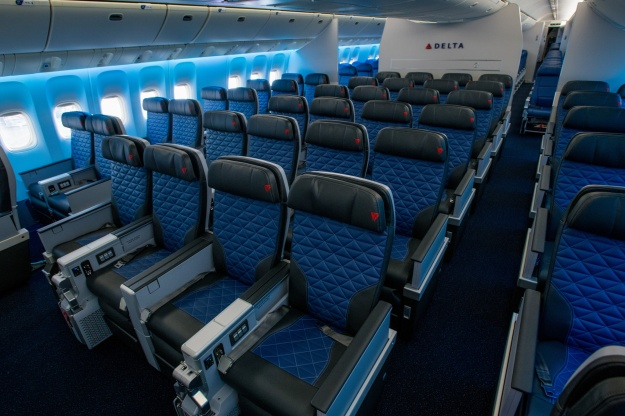 Delta To Debut First Aircraft With All Four Seat