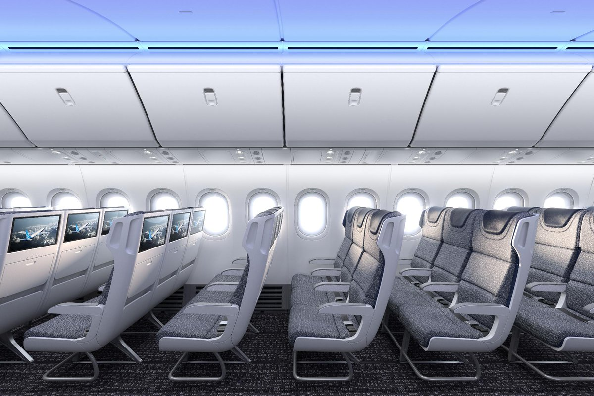 First Look: The cabin of the new Boeing 777X