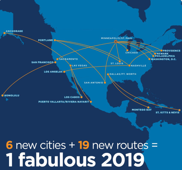 Sun Country Airlines World Airline News