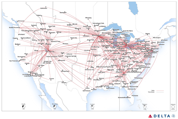 Delta adds Santa Barbara to its route map with service from the Salt on