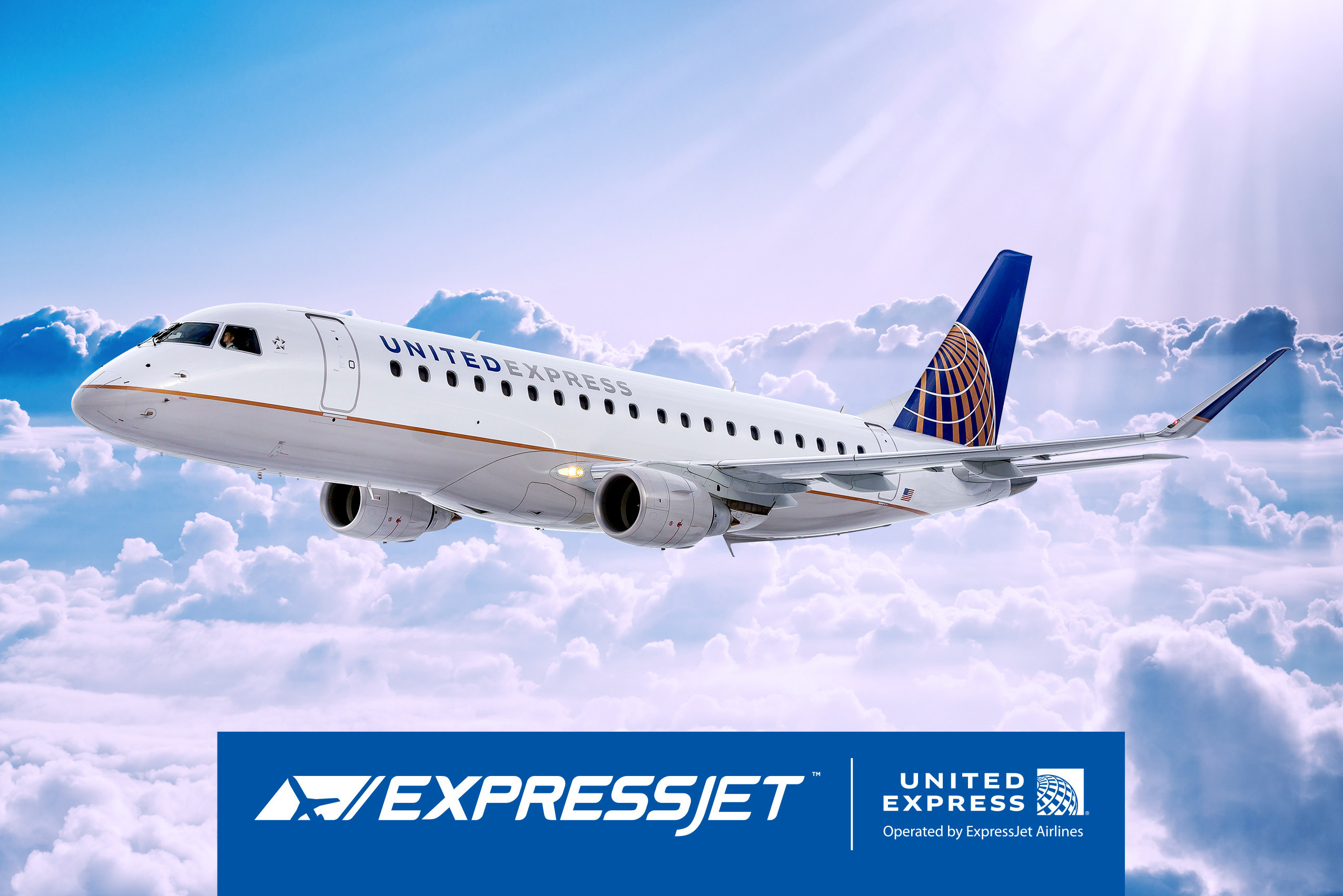 Expressjet Airlines Announces Houston As Its First Embraer