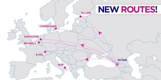 Wizz Air expands in Kutaisi, Georgia with six new routes ...