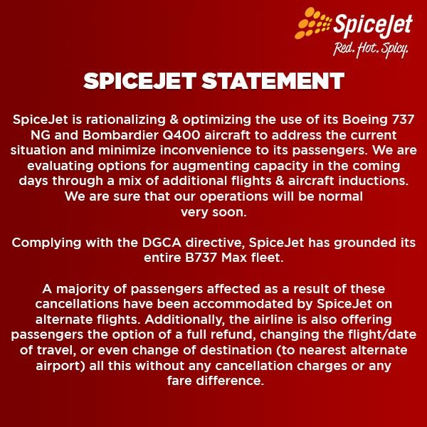 SpiceJet | World Airline News