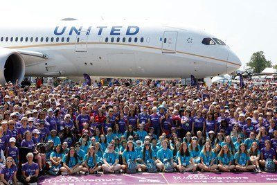 UNITED AIRLINES FLIES 787 DREAMLINER WITH ALL-FEMALE CREW TO